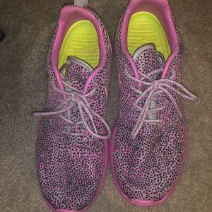 Pink and Purple Nike Roshe Runs
